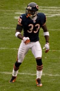 Chicago Bears cornerback Charles Tillman