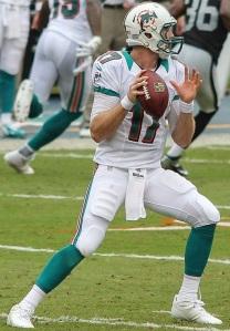 Miami quarterback Ryan Tannehill