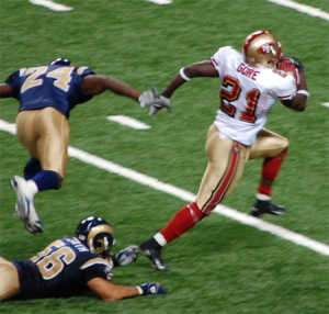San Francisco RB Frank Gore
