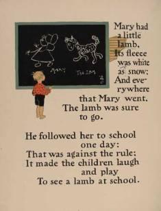 Mary_had_a_little_lamb_1_-_WW_Denslow_-_Project_Gutenberg_etext_18546
